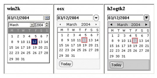 BlueShoes JS DatePicker Component
