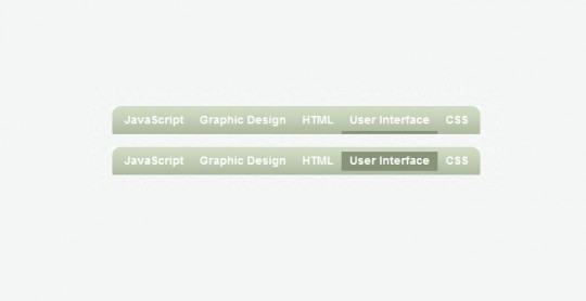 Sliding JavaScript Menu Highlight 1kb