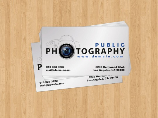 Business cards 22 innovative business cards for photographers sided business card design for photographers colourmoves