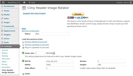 how to change footer image in wordpress