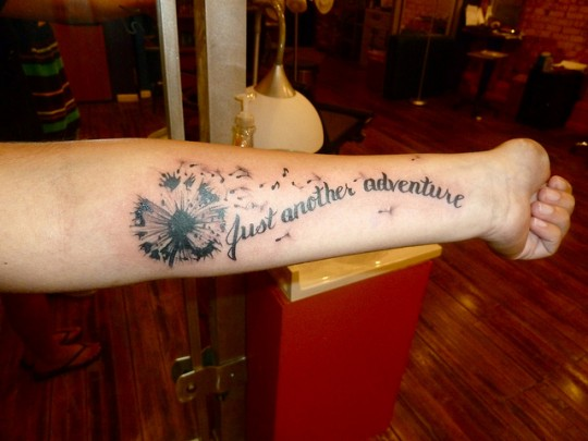 18 sophisticated dandelion tattoos ideas codeknows. Black Bedroom Furniture Sets. Home Design Ideas