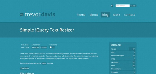 Simple jQuery Text Resizer