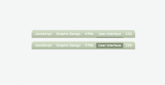 Sliding JavaScript Menu Highlight 1kb