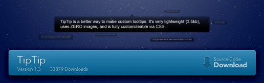 TipTip- Sweet & Simple Custom tooltip jQuery Plugin