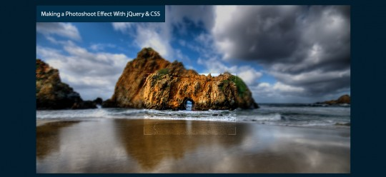 jQuery PhotoShoot Plugin
