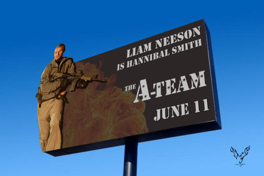 A-Team Billboard Hannibal - Award Winning Billboard Designs