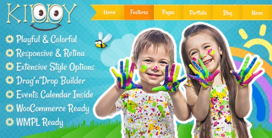 Kiddy - Professional Children WP Theme