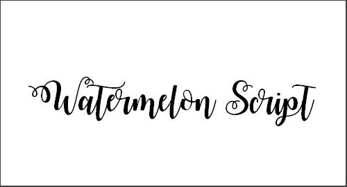 Watermelon Script Demo Font
